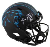 Luke Kuechly Signed Panthers Full-Size Eclipse Alternate Speed Helmet (Beckett COA) at PristineAuction.com