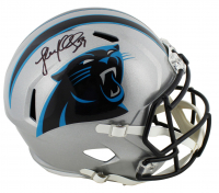 Luke Kuechly Signed Panthers Full-Size Speed Helmet (Beckett COA) at PristineAuction.com