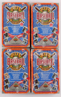 Lot of (4) Factory Sealed 1992 Upper Deck Low Series Baseball Card Box at PristineAuction.com