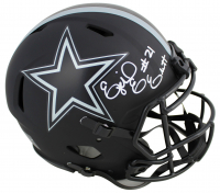 Ezekiel Elliott Signed Cowboys Eclipse Alternate Speed Full-Size Authentic On-Field Helmet (Beckett COA) at PristineAuction.com