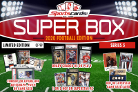 "Sportscards.com ""SUPER BOX"" FOOTBALL HOF'ers/Stars ONLY MYSTERY BOX Series 5 at PristineAuction.com"