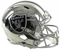 "Jason Witten Signed Raiders Full-Size Chrome Speed Helmet Inscribed ""Raider Nation"" (Beckett COA & Witten Hologram) at PristineAuction.com"