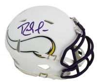 Randy Moss Signed Vikings Matte White Speed Mini-Helmet (Beckett COA) at PristineAuction.com
