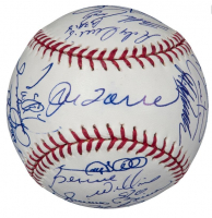 2005 Yankees OML Baseball Team-Signed by (29) with Derek Jeter, Mariano Rivera, Mike Mussina, Joe Torre, Randy Johnson (JSA LOA) at PristineAuction.com