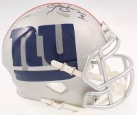 Lawrence Taylor Signed Giants AMP Alternate Speed Mini-Helmet (JSA COA) at PristineAuction.com