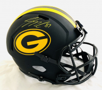 Jordy Nelson Signed Packers Full-Size Eclipse Alternate Speed Helmet (JSA Hologram) at PristineAuction.com