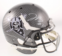 Lynn Bowden Jr. Signed Raiders Full-Size Authentic On-Field Hydro-Dipped Helmet (Beckett COA) at PristineAuction.com