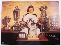 Bobby Orr Signed Bruins 18x24 Photo (Orr COA) (See Description) at PristineAuction.com
