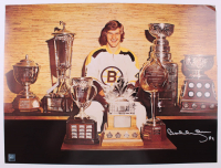 Bobby Orr Signed Bruins 18x24 Photo (Orr COA) (See Description) at PristineAuction.com