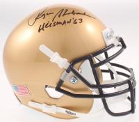 "Roger Staubach Signed Navy Midshipmen Mini-Helmet Inscribed ""Heisman '63"" (Beckett COA) at PristineAuction.com"