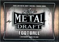 2020 Leaf Metal Draft Football Hobby Box at PristineAuction.com