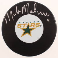 Mike Modano Signed Stars Logo Hockey Puck (COJO COA & Frozen Pond Hologram) at PristineAuction.com