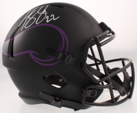 Harrison Smith Signed Vikings Full-Size Eclipse Alternate Speed Helmet (Beckett COA) at PristineAuction.com