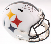 JuJu Smith-Schuster Signed Steelers Full-Size AMP Alternate Speed Helmet (JSA COA) at PristineAuction.com