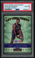 Zion Williamson 2019-20 Panini Contenders Lottery Ticket #1 (PSA 10) at PristineAuction.com