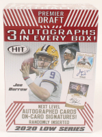 2020 Sage Hit Premier Draft Low Series Football Cards at PristineAuction.com
