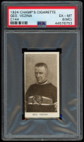 Georges Vezina 1924-25 C144 Champ's Cigarettes #60 (PSA 6) (MC) at PristineAuction.com