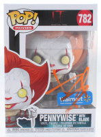 """Bill Skarsgard Signed """"IT"""" Pennywise with Blade #782 Funko Pop! Vinyl Figure (PSA Hologram) at PristineAuction.com"""
