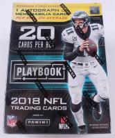 2018 Panini Playbook Football Blaster Box of (4) Packs at PristineAuction.com