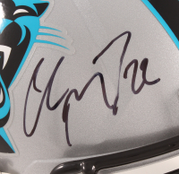 Christian McCaffrey Signed Panthers Full-Size Speed Helmet (Beckett COA) at PristineAuction.com