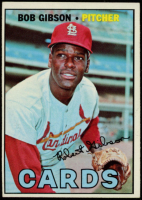 Bob Gibson 1967 Topps #210 at PristineAuction.com