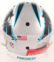 Christian McCaffrey Signed Panthers Full-Size Authentic On-Field SpeedFlex Helmet (Beckett COA) at PristineAuction.com