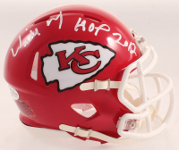 "Willie Roaf Signed Chiefs Speed Mini Helmet Inscribed ""HOF 2012"" (Beckett COA) at PristineAuction.com"