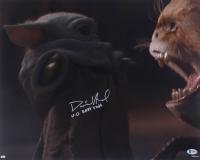 """David Acord Signed """"The Mandolorian"""" 16x20 Photo Inscribed """"V.O. Baby Yoda"""" (Beckett COA) at PristineAuction.com"""