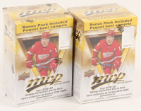 Lot of (2) 2019-20 Upper Deck MVP Blaster Boxes at PristineAuction.com