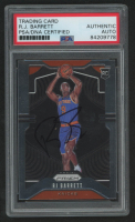 RJ Barrett Signed 2019-20 Panini Prizm Rookie Variations #250 (PSA Encapsulated) at PristineAuction.com