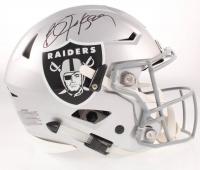 Bo Jackson Signed Raiders Full-Size Authentic On-Field Speed Helmet (Beckett COA & Jackson Hologram) at PristineAuction.com