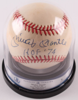 "Mickey Mantle Signed OAL Baseball Inscribed ""HOF '74"" (BGS Encapsulated) at PristineAuction.com"