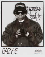 "Eazy-E Signed ""N.W.A"" 8x10 Photo Inscribed ""Nice Meeting You"" & ""Stay Sweet"" (Beckett LOA) at PristineAuction.com"