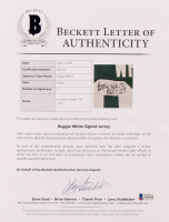 Reggie White Signed Packers Jersey (Beckett LOA) at PristineAuction.com