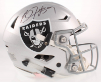 Bo Jackson Signed Raiders Full-Size Authentic On-Field SpeedFlex Helmet (Beckett COA & Jackson Hologram) at PristineAuction.com