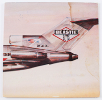 "Michael ""Mike D"" Diamond, Adam ""MCA"" Yauch & Adam ""Ad-Rock"" Horovitz Signed Beastie Boys ""Licensed to Ill"" Vinyl Record Album Cover (Beckett LOA) at PristineAuction.com"