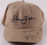 Sean John Fitted Hat Signed by (5) with Bam Margera, Johnny Knoxville, Ryan Dunn, Phil Margera (Beckett LOA) at PristineAuction.com