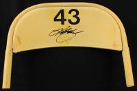 Kurt Busch Signed Original Daytona International Speedway Seat Back (Fanatics COA & PA COA) at PristineAuction.com