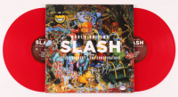 "Slash, Myles Kennedy, & Brent Fitz Signed ""World On Fire"" Vinyl Record Album (PSA LOA) at PristineAuction.com"