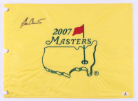 Ben Crenshaw Signed 2007 The Masters Golf Pin Flag (Beckett Hologram) at PristineAuction.com