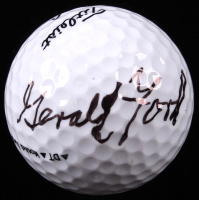 Gerald Ford Signed Golf Ball (Beckett LOA) at PristineAuction.com
