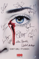 """True Blood"" 13x20 Photo Cast-Signed By (11) With Anna Paquin, Stephen Moyer, Ryan Kwanten, Kristin Bauer van Straten (Beckett LOA) at PristineAuction.com"