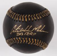 """Austin Meadows Signed OML Black Leather Baseball Inscribed """"2013 1ST RD"""" (JSA Hologram) at PristineAuction.com"""