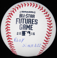 Eloy Jimenez Signed 2016 All-Star Futures OML Baseball (JSA Hologram) at PristineAuction.com