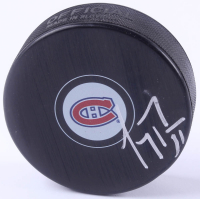 Carey Price Signed Canadiens Logo Hockey Puck (Beckett COA) at PristineAuction.com