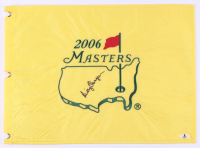 Billy Casper Signed 2006 The Masters Golf Pin Flag (Beckett COA) at PristineAuction.com
