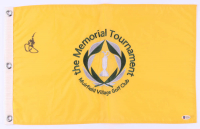 Jack Nicklaus Signed The Memorial Tournament Golf Pin Flag (Beckett LOA) at PristineAuction.com