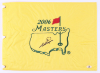Bernhard Langer Signed 2006 The Masters Golf Pin Flag (Beckett COA) at PristineAuction.com