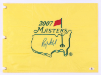 Raymond Floyd Signed 2007 The Masters Golf Pin Flag (Beckett COA) at PristineAuction.com