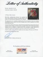 "Slash, Myles Kennedy, & Brent Fitz Signed ""Apocalyptic Love"" Vinyl Record Album (PSA LOA) at PristineAuction.com"